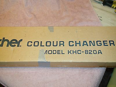 Knitting Machine Accessory: Brother Single Bed Colour Changer Khc 820A Rare