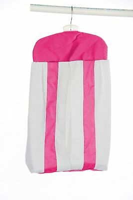 Baby Doll Bedding Modern Hotel Style Diaper Stacker Hot Pink