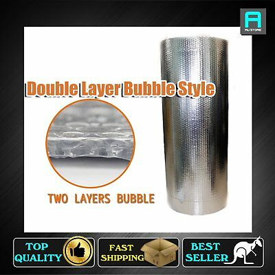 1000mm Width Reflective Foil Shed Attic Insulation Single Bubble Thermal Barrier