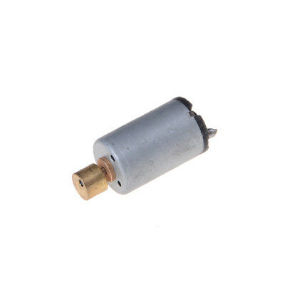 DC 1.5-6V 1750-7000RPM Output Speed Electrics Mini Vibrations Motor Silver+Gold