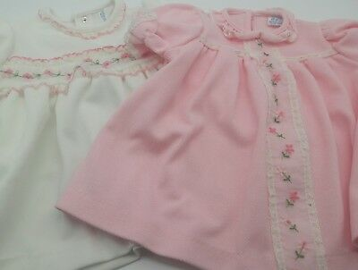 Vintage baby girl 2pc dress or top lot