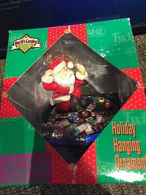 ENESCO CHRISTMAS ORNAMENT: TRIVIAL PURSUIT THE BOARD GAME! new in box