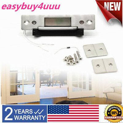Stainless Steel Door Electric Strike Lock for Access Control NO NC Standard Type