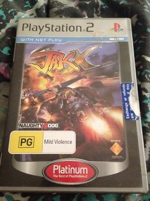 Jak X: Combat Racing (Sony PlayStation 2, 2005) - Platinum Edition - PAL