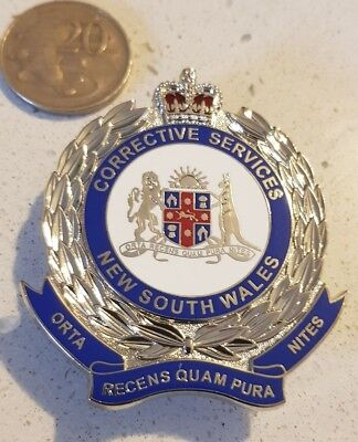 NSW Corrective Services Badge (Not police)