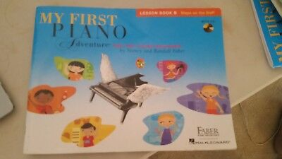 My First Piano Adventure For The Young Beginner - Lesson Book B + CD