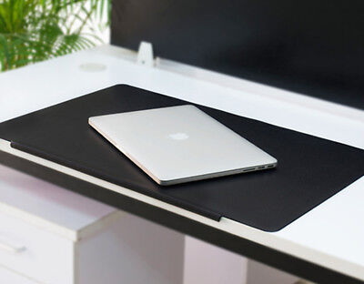 Large PVC Leather Mouse Mat Non Slip Desk Protector Keyboard Pad Home  Office Use