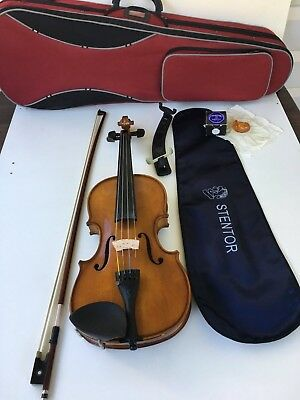 Stentor 3/4 Size Student Violin With Case Very Good Condition