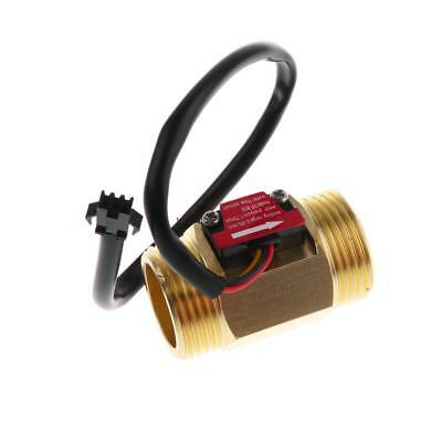 G1'' 2-50L/min Copper Hall Effect Liquid Water Flow Sensor Switch