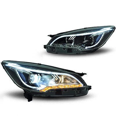 For Ford Escape 2015 2PCS Xenon Headlamp Lightings Headlights Assembly DRL