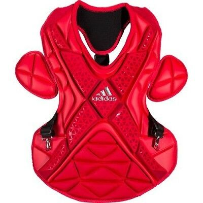 (41cm , Power Red/Silver) - adidas Performance PRO Series Baseball Chest
