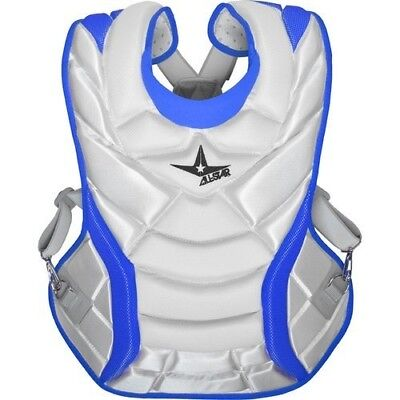 (White/Royal) - All-Star System 7 Womens Chest Protector 33cm. Free Delivery