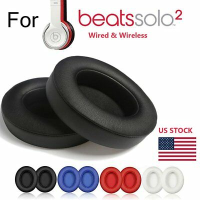 Replacement Ear Pad Cushion For Beats by dr dre Solo 2.0 Solo 2.0 Earphones NEW