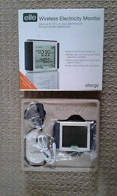 efergy Elite Wireless Electricty Monitor Brand new boxed