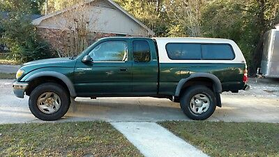 2001 Toyota Tacoma  Toyota Tacoma extended cab, prerunner, 2WD, 2.7, with cap