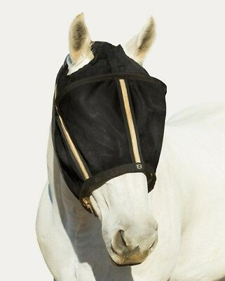 (XL, Black) - Noble Outfitters Guardsman No Ear Fly Mask. Brand New