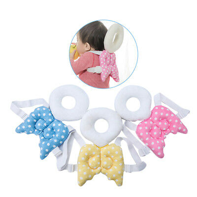 Baby Head Protective Game Mat Angel Wings Toddlers Soft Nursing Kids Pillows