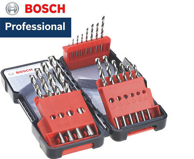 Bosch Professional Metal HSS-G 18 Drill Bit Set & Case *BRAND NEW & VAT RECEIPT*