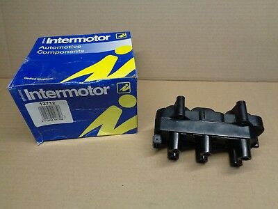 New Genuine Intermotor 12712 Ignition Coil Vauxhall Omega Vectra  90452255 (2)