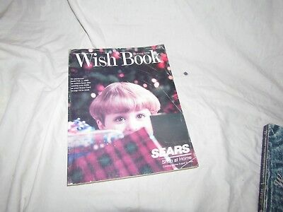 Vintage Sears Wish Book Christmas Catalog 1998 Complete Good Condition