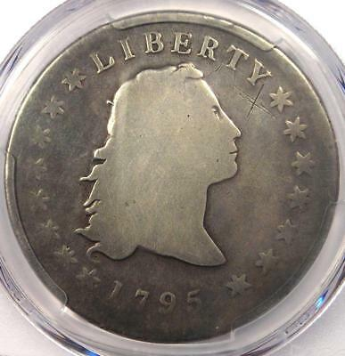 1795 Flowing Hair Silver Dollar ($1) - Certified PCGS Good Detail - Rare Coin!