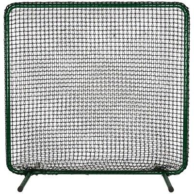(Black) - ATEC 1st Base Pitching Screen Replacement Net. Delivery is Free