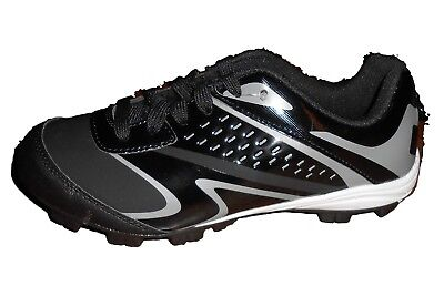 Starter Baseball Cleats Size 4 Black Grey. Shipping Included