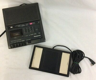 Panasonic RR-930 Micro Cassette Transcriber Dictation Machine Pedal Rp-2692