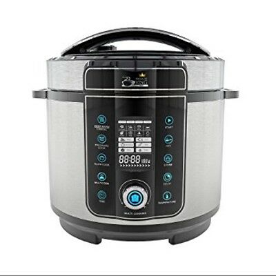 Pressure King Pro 20-in-1 Electric Pressure Cooker, 6 litre, 1000 W,