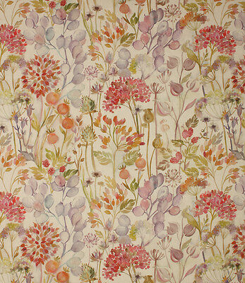 Voyage Decoration Hedgerow Autumn fabric 53% Linen, 47% Cotton. IN STOCK NOW!
