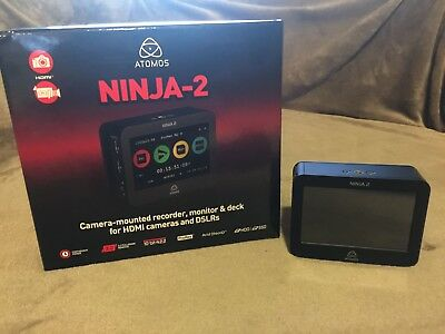 "Atomos 4.3"" Ninja 2 Video Recorder with 2 500GB Hard Drives"