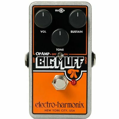 Electro Harmonix Op Amp Big Muff Pi Distortion Pedal