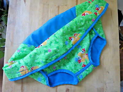 Evenflo ExerSaucer Triple Fun Jungle Replacement Part Seat Cover Frogs Green