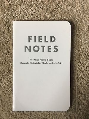 Field Notes Northerly Notebook! Protected With Plastic Cover.