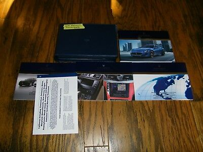 2014 Maserati Granturismo Sport owners manual with navigation manual Extras