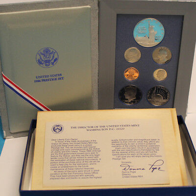 1986 Prestige US Mint Silver Proof set (OGP)
