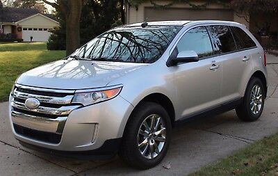 2012 Ford Edge SEL **LOADED** AWD; NEW Tires; headrest DVD players and PANORAMIC Sunroof!