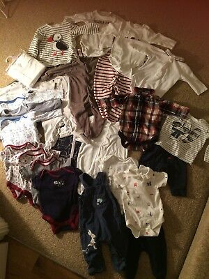 Huge Baby Boys Winter Bundle Clothes Age 3-6 Months