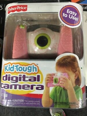 Fisher Price Kid Tough Digital Camera with Case - P Brand New