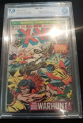 X-men #95 CBCS 7.0 3rd appearance of new X-men