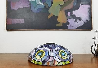 Tiffany Style Reproduction Stained Glass Lampshade