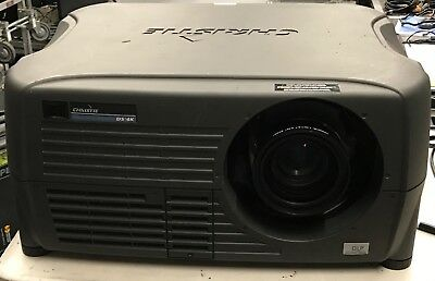 Christie DS+4K DLP Projector Working W/ Lens