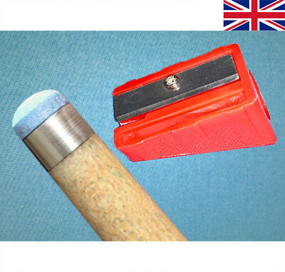 Cue Tip 'shaper' For Snooker Pool Cue Tips   ** New **