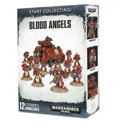 Warhammer 40.000 Start Collecting! Blood Angels - OVP 40K