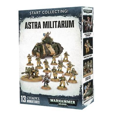 Warhammer 40.000 Start Collecting! Astra Militarum  - OVP 40K