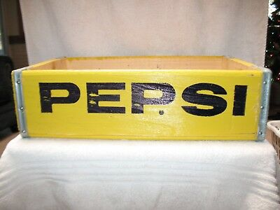 Pepsi-Cola Wooden Soda Crate, Beautiful!