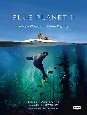 Blue Planet II Blue Planet 2 James Honeyborne New Hardcover Book 9781849909679