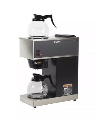 Brand New Bunn VPR 33200-0001 Black 12 Cup Pourover Coffee Brewer