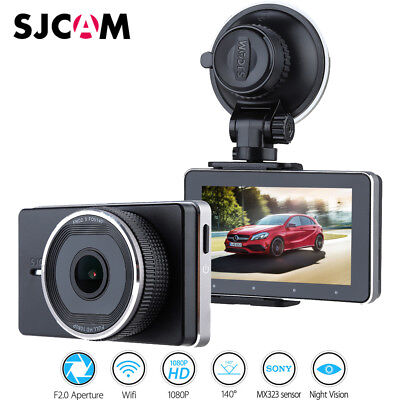 SJCAM Car Dashcam 140° Lens 1080P HD Car DVR Dash Cam Video Recorder Camera