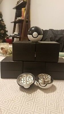 NEW Black Pokeball Herb Grinder